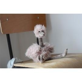 Peluche bébé Autruche Rose - Jellycat - leli concept store