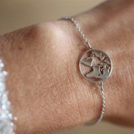 Bracelet Terre argent - leli concept store
