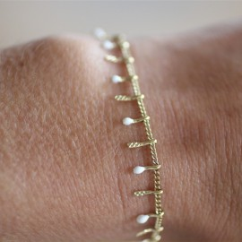 Bracelet Jeanne doré- leli concept store