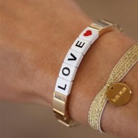 Bracelet élastique LOVE leli concept store