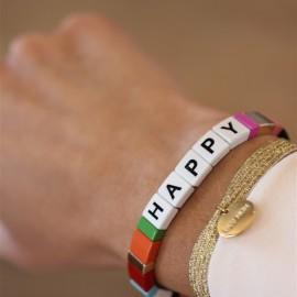 Bracelet élastique HAPPY leli concept store