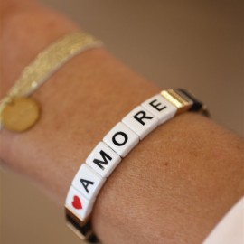 Bracelet élastique AMORE leli concept store