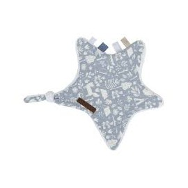 Doudou Etoile Adventure Blue - Little Dutch