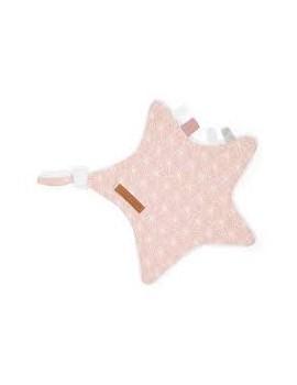 Doudou Etoile Adventure Pink - Little Dutch
