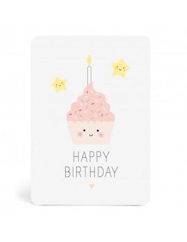 Carte Happy Birthday Gâteau - Zü