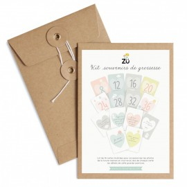 Kit Souvenirs de Grossesse - Zü
