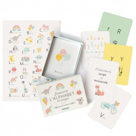Coffret J'apprends l'alphabet en images - Zü