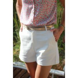 Short Cassandre blanc leli concept store