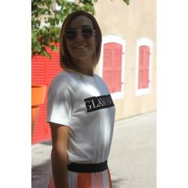 Tee-shirt Naline Noir - Vila leli concept store