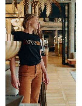 t-shirt bitta noir - vila