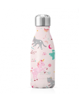 Gourde Isotherme Licorne 260 ml - Label Tour
