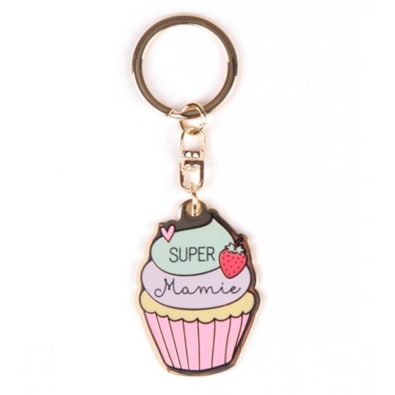 Porte-clés Super mamie - Crea Bisontine