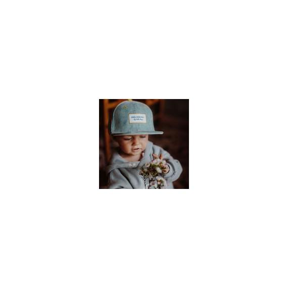 Casquette Enfant Baby Blue casquette Velours - Hello Hossy leli concept store