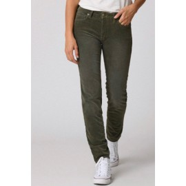 Pantalon Colette Velours Kaki - FIVE
