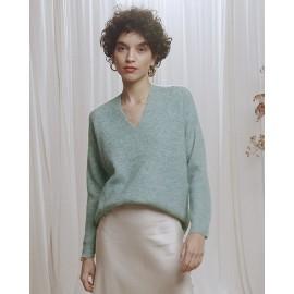 Pull Calvin vert - Grace et Mila - leli concept store