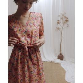 Robe Christelle écrue -  Grace et Mila - leli concept store