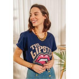 Tee-Shirt Lipstick - La Petite Etoile - leli concept store