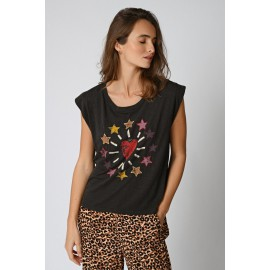 Tee-Shirt Star - Five Jeans - leli concept store