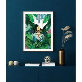Affiche La fille sur la balançoire  - All the Ways to say - leli concept store