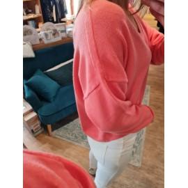 Pull Matthias corail - Almae - leli concept store
