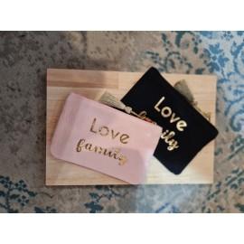 Pochette Love Family - leli concept store
