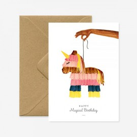 Carte Pinata Licorne - All The Ways To Say- leli concept store