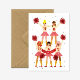 Carte PomPom Girls - All The Ways To Say - leli concept store