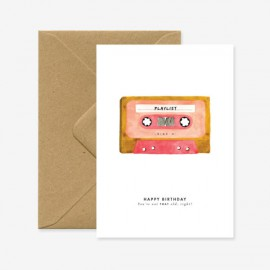 Carte Cassette - All The Ways To Say - leli concept store