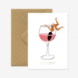 Carte Juste un verre  - All The ways To Say - leli concept store