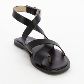 Sandales 2236 noires - vanessa wu - leli concept store