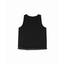 Top Charmant noir - Grace et Mila - leli concept store