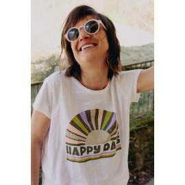 Tee-shirt Happy Day - Happy - leli concept store