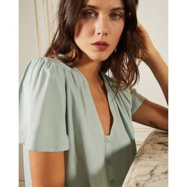 Robe confiante verte - Grace et Mila - leli concept store