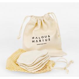 Kit lingettes démaquillantes - Malou et Marius