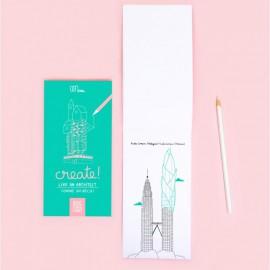 Jeu Create like an architect - Editions minus