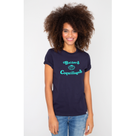 """Tee-shirt Dolly """"Baisers coquillages"""" - French Disorder"""