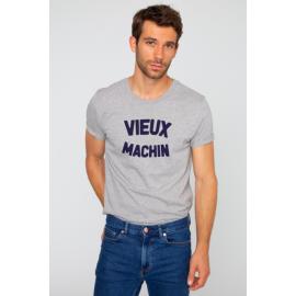 Tee-shirt Alex vieux machin gris - French Disorder