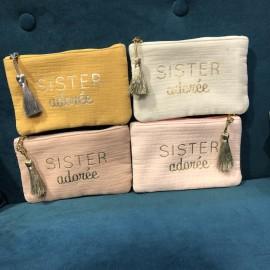 Pochette Sister adorée - Mila and stories