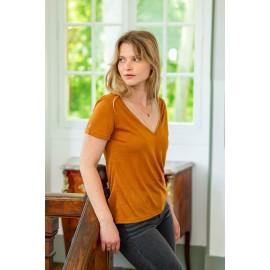 Tee-shirt Elvie camel - La Petite Etoile