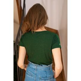 Tee-shirt Elvie vert sapin - La Petite Etoile