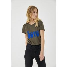 Tee shirt Love kaki - Five