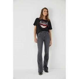 Jean Maylis 384 gris - Five Jeans