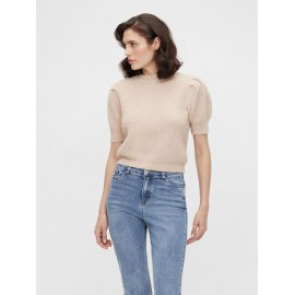 Pull Pascalia manches courtes rose - Object