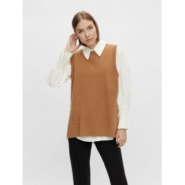 Pull sans manches Timmi camel - Y.A.S